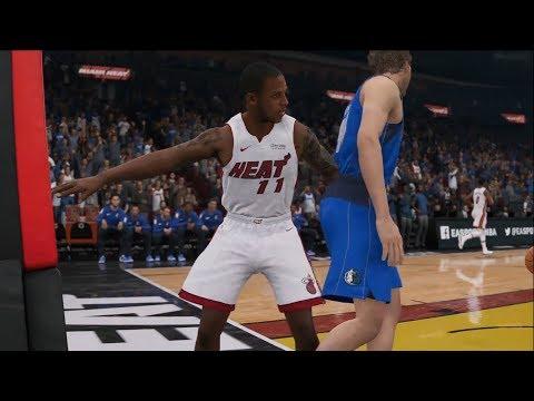 NBA Live 19 - Miami Heat vs Dallas Mavericks - Gameplay (HD) [1080p60FPS]