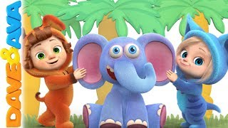 👍 Nursery Rhymes & Kids Songs | Baby Songs from Dave and Ava 👍