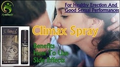CLIMAX SPRAY,Benefits, Price, How to use, Side effects Ayushmedi