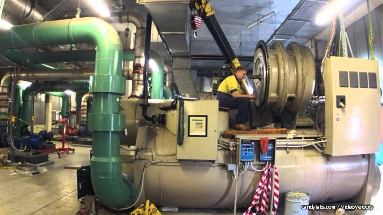 Trane Chiller Rebuild Youtube