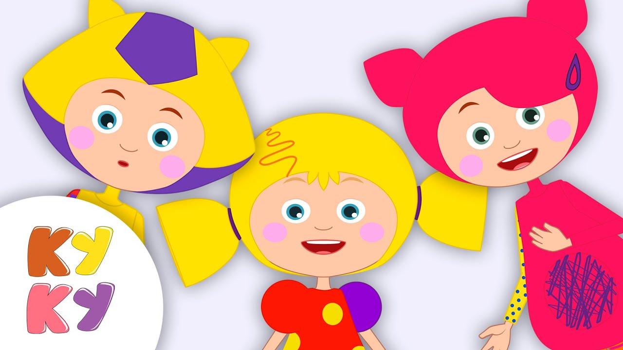 ТАТИ - Кукутики - развивающая детская песенка мультик про ножки ручки глазки ушки и животик