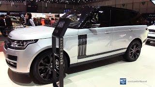 2017 Range Rover SVAutobiography Dynamic V8 - Exterior Interior Walkaround - 2017 Geneva Motor Show