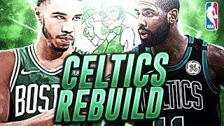 TRADE OR BENCH GORDON HAYWARD? BOSTON CELTICS REBUILD! NBA 2K19 MY LEAGUE