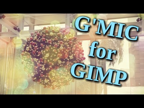 G'MIC Showcase