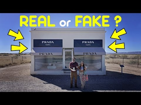 STRANGE PRADA STORE in WEST TEXAS