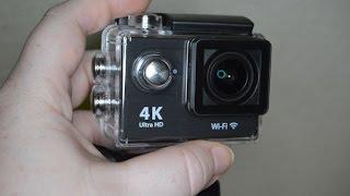 iwawa ultra hd 4k wifi waterproof action camera 4k1080p 170 degree wide angle lens review