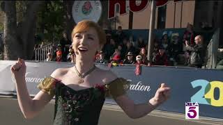 FROZEN North American Tour Cast Performs at Rose Parade