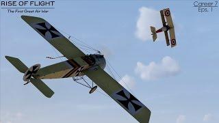 Rise of Flight: Pat Wilson Campaign Career 7 Episode 1 - Return of Heinrich Kruger