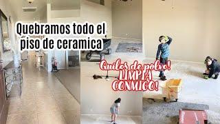Motivate a limpiar conmigo. Mi casa es un completo desastre, llena de polvo quebramos todo el piso!