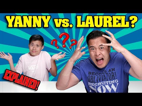 YANNY VS. LAUREL??? EXPLAINED!!!  Experiment Makes Dad Lose His Mind! You Will Be Amazed!