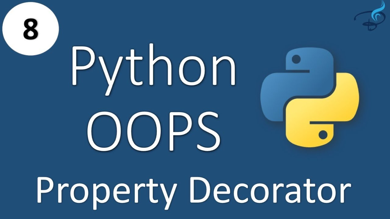 Python Object Oriented Programming Property Decorators Youtube