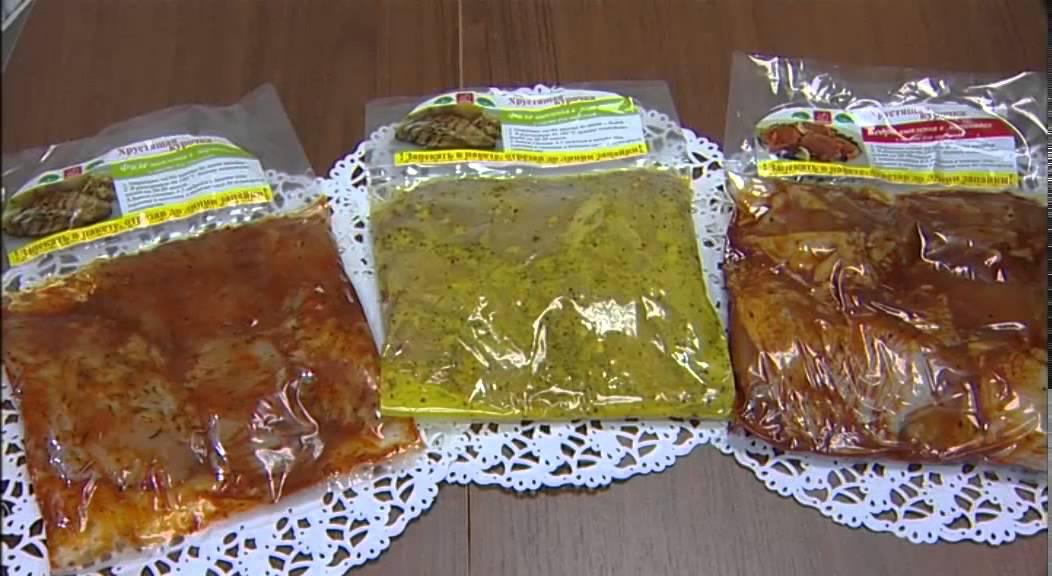 продукция в пакете для запекания -рецепт -приправа -как