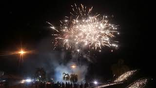 Pertunjukan Bunga Api sempena 140 tahun Tepekong(Tokong Cina)  Mukah.