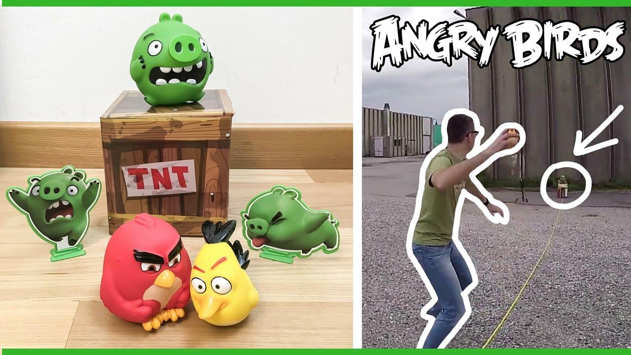 Sfida a angry birds dal film al gioco da lanciare youtube - Angry birds gioco da tavolo istruzioni ...