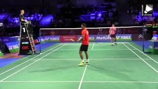 Lin Dan vs Chou Tien Chen [Denmark Open 2014]