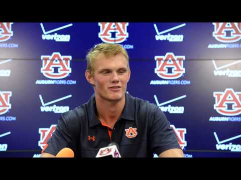 Auburn kicker Daniel Carlson: Aug. 7, 2015
