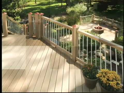 Composite Decking And Railing System By Latitudes Youtube