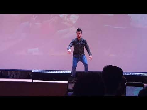 رقص خرافي عراقي اسد الله في حفل جامعة بيليغورود