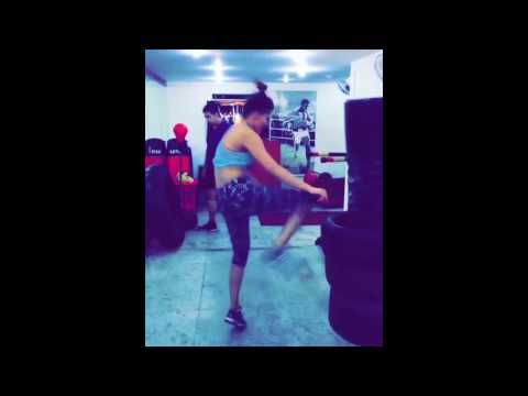 Urvashi Rautela Workout In Gym Video