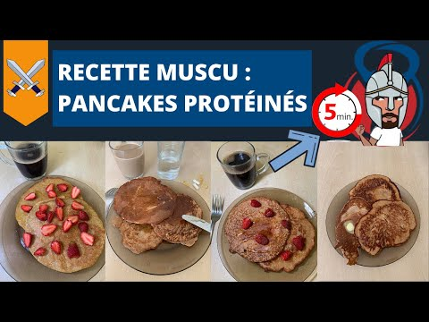 recette-musculation-:-pancakes-protéinés-whey-et-avoine-(recette-facile-et-rapide)