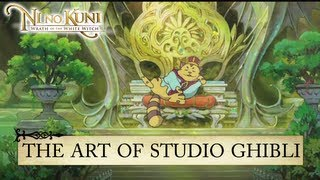 Ni no Kuni: Wrath of the White Witch - PS3 - The Art of Studio Ghibli (Behind the Scene #2)