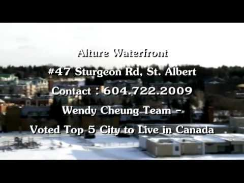 Alture Waterfront - St. Albert, Alberta - Wendy Cheung Team - Reel Estate Walkthru