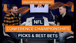NFL Conference Championship Picks & Best Bets 2020  Titans vs Chiefs  Packers vs 49ers