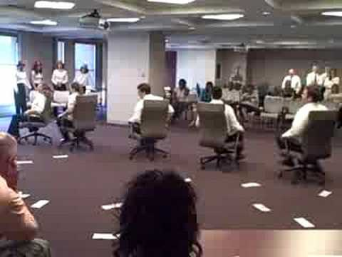 Synchronized Chair Dancing