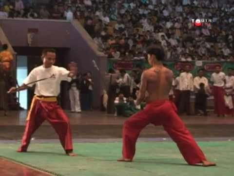 DVBYV 03.04.2009 - Burmese Martial Art show