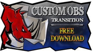 Download Obs Tutorial How To Create A Custom Stinger