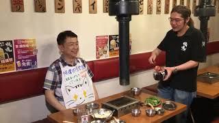 """""""大阪燒肉-燒魂""""有趣的互動"""