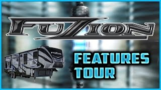 Keystone Fuzion Rv 2016 Toy Hauler Features Tour Video Review