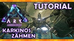 KARKINOS ZÄHMEN Tutorial + FÄHIGKEITEN (Riesen-Krabbe) - ARK ABERRATION Deutsch | Gameplay German