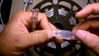 Hướng dẫn lắp đèn led dây 220V