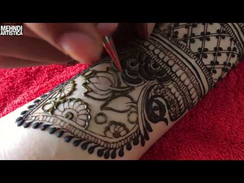 Special Eid Mehndi Design For Full Haathphool | The MOST Beautiful Ramadan Mahendi 2018