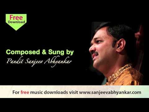Sanjeev Abhyankar  Hindi Bhajan  Akhiyan Hari Darsan Ki Pyaasi
