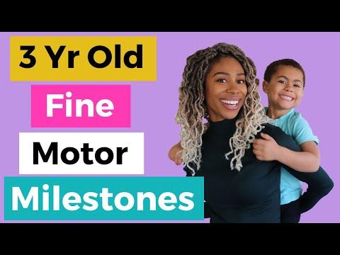 Fine Motor Development   3 Year Old Fine Motor Skills