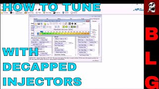 How To Tune Decapped Injectors In Hp Tuners Gen Iii Pcms Youtube