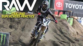 Oakland Supercross Practice RAW - Motocross Action Magazine