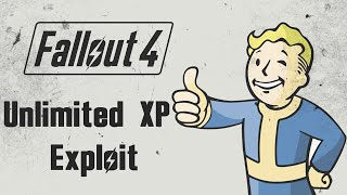 Fallout 4 - Unlimited XP Exploit Glitch 2500-3000 XP in 10 Minutes