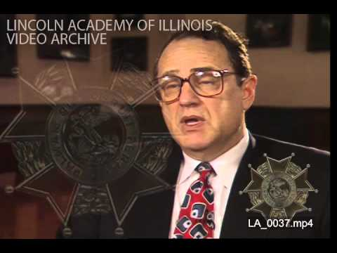 Lincoln Academy 1997 Interview Jerry M. Reinsdorf