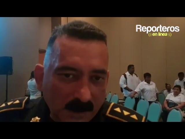 Inseguridad controlada en Ciudad del Carmen: Comandante de la PEP