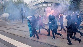 Противники Ле Пен устроили беспорядки в Париже
