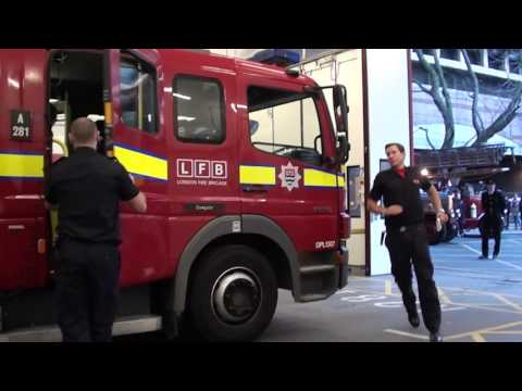 A281 Dowgate, London Fire Brigade Turn Out