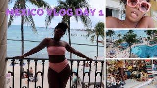 MEXICO VLOG DAY 1 | Room Tour & Liquor For Days! 🌴