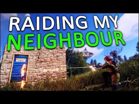 ONLINE RAIDING my NEIGHBOUR for REVENGE! - Rust Solo #9 thumbnail