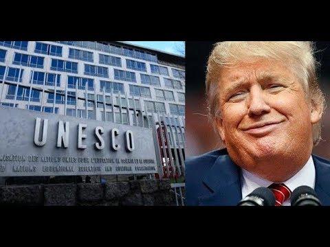Trump to UNESCO: Get Lost! Defends Israel, Kills Obamacare