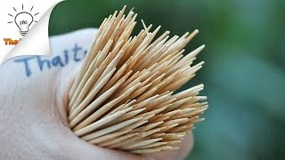 16 Ways to Use Toothpicks | Thaitrick