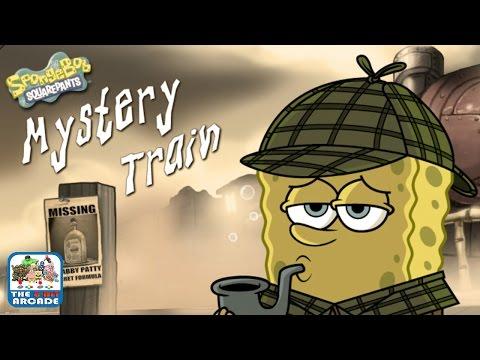 SpongeBob SquarePants: Mystery Train  CHOO CHOO! All Aboard! Nickelodeon Games