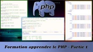 Formation apprendre le PHP   Partie 1/17 Mp3